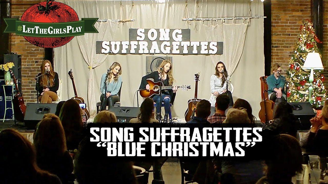 elvis presley blue christmas cover letthegirlsplay - Youtube Blue Christmas