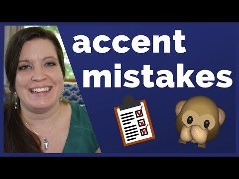 Accent Mistakes: How NOT to Sound Like a Native English Speaker