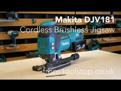 Makita DJV181 Cordless Brushless Jigsaw From Toolstop