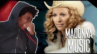LOVE IT!! Madonna - Music (REACTION!!!)
