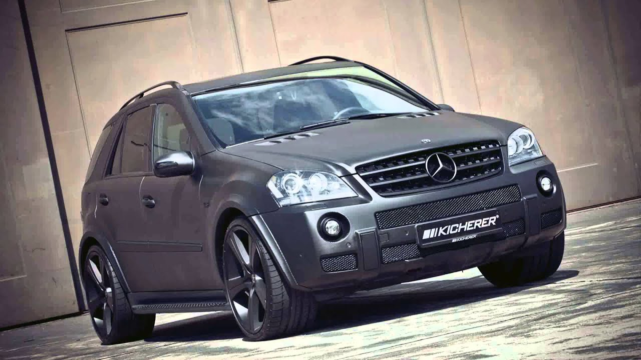 mercedes benz ml 63 amg tuning - youtube