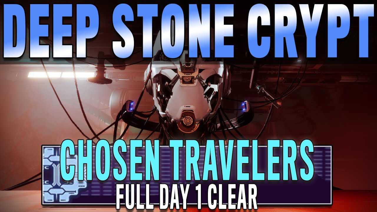 Deep Stone Crypt Raid Full Day 1 Clear - Chosen Traveler's Clan Run | Destiny 2 Beyond Light