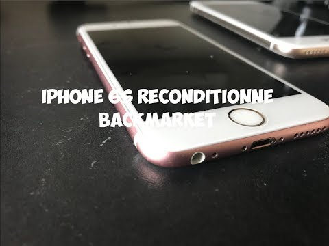 Achat Back Market Iphone 6s Reconditionné 2018 Youtube