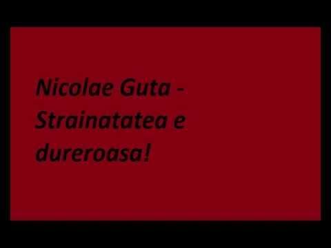 Nicolae Guta - Strainatatea e dureroasa.