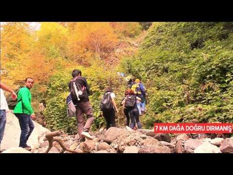 Garanohur Lake.Camping Azerbaijan