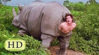 Эйс Вентура 2 — «Я маленький любопытный носорог» - эпизоды, цитаты из к/ф (9/15)(https://vk.com/vmirecitat - Цитаты в картинках Эпизоды, цитаты из фильма: (02:08 — Эпизод с носорогом) — Мне нужно на воздух!, 2013-10-05T21:37:51.000Z)