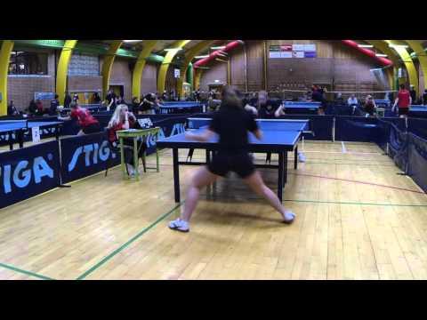 160130 Kval TOP12, Karoline Petersen - Tone Juhl Petersen