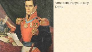 did general antonio lopez de santa anna start the texas revolution Mexico, an avowedly federalist general, antonio lópez de santa anna, was leading a successful rebellion against pres anastasio bustamante, and many texans claimed that their efforts to force out the military were anticentralist actions in sympathy with santa anna's attempts to reimpose federalist.