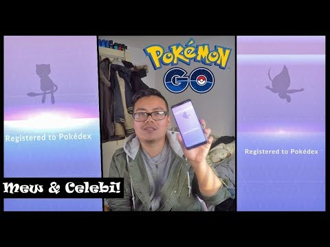 "MEW &"" besonderes"" CELEBI gefangen! 2. Account Update! Pokemon Go! thumbnail"