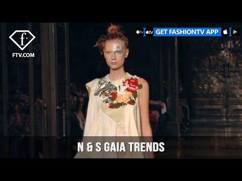London Fashion Week Spring/Summer 2018 - N & S Gaia Trends   FashionTV