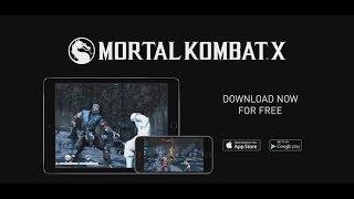 Релизный трейлер Mortal Kombat X для мобильных устройств (iOS/Android)
