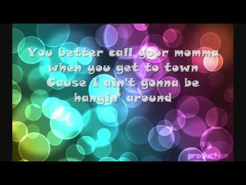 Miranda Lambert- Baggage Claim Lyrics