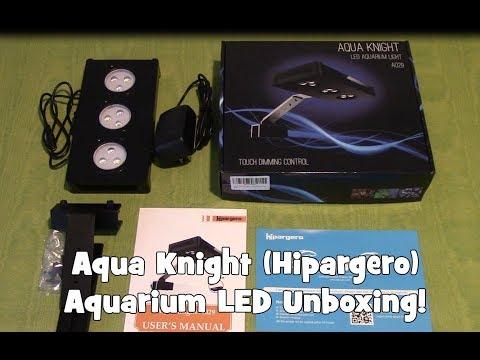 Aqua Knight (Hipargero) Aquarium LED Unboxing!