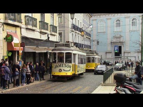 Elétricos de Lisboa Linea 28 Martim Moniz ⇒ Campo Ourique (Prazeres) Lisbon Trams Route 28 E