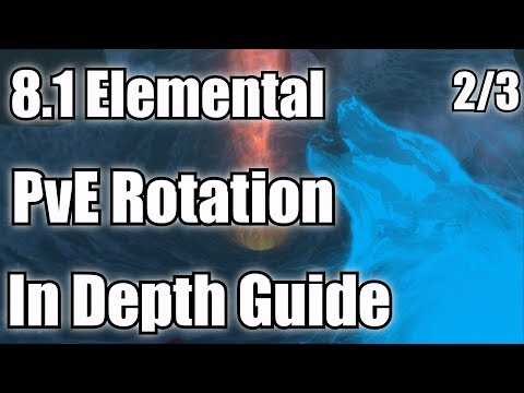 8.1 Elemental Shaman PvE Guide - Rotation/Priority List (2/3)