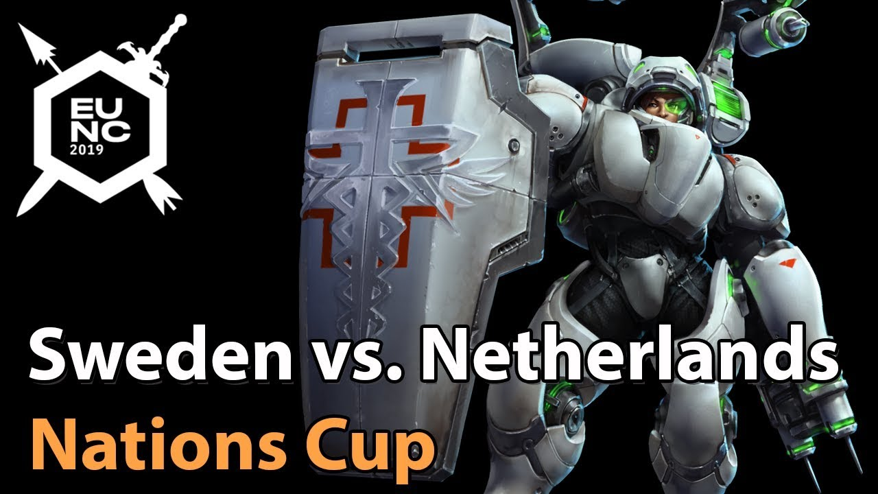 ► Sweden vs. Netherlands - Nations Cup - Heroes of the Storm Esports