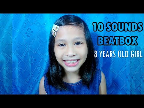 10 Sounds Beatbox - 8 Years old Girl (Zipporah Beatbox)