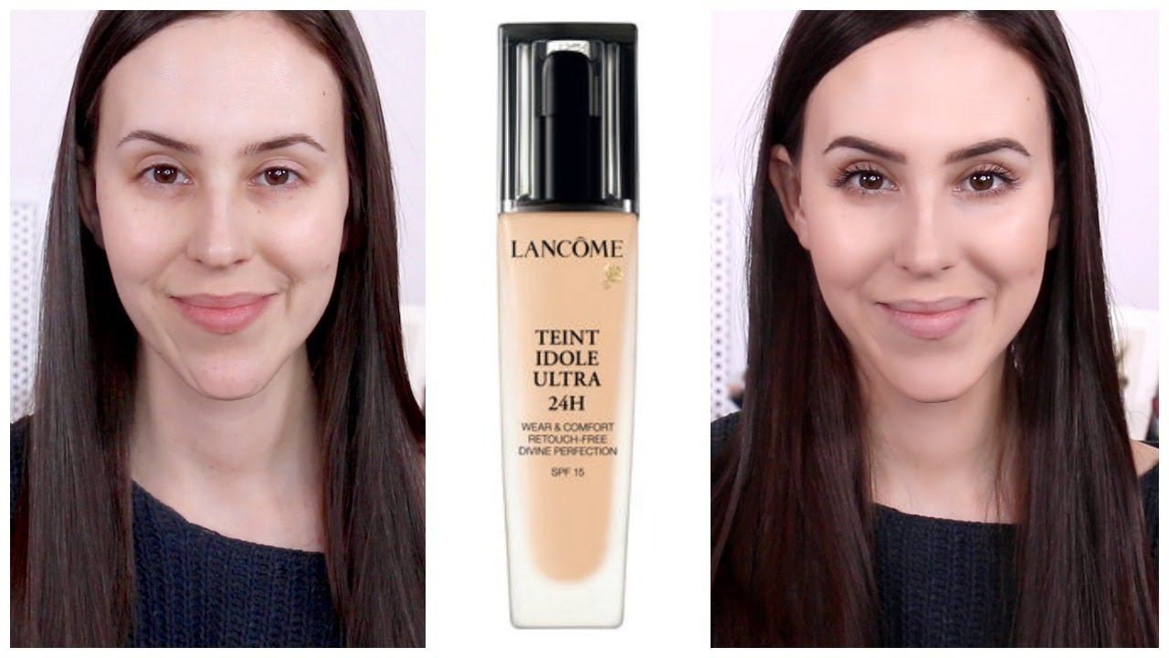 lancome teint idole ultra 24h foundation dry skin 10h