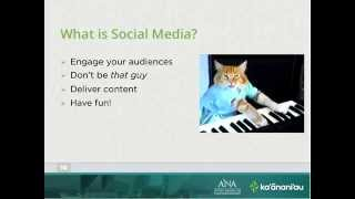 """""""Using Social Media in Your Project"""" 
