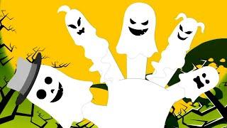 Призрак семья пальцев | хэллоуин видео для детей | детские стишки | мультфильмы