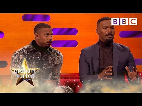 Jamie Foxx tearful over father prison story | The Graham Norton Show - BBC