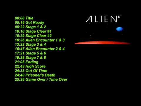Alien 3 NES Music  Soundtrack