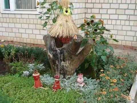 Как украсить дерево