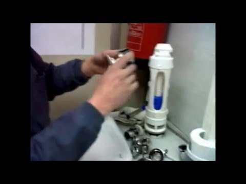 Como arreglar una cisterna parte 1 youtube for Arreglar cisterna roca doble pulsador