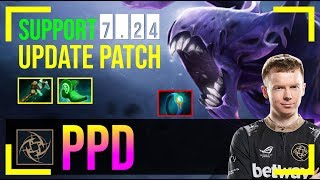 ppd - Bane Safelane | SUPPORT 7.24 Update Patch | Dota 2 Pro MMR Gameplay #3