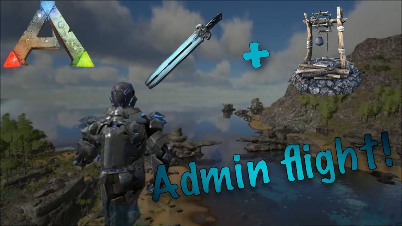 ARK:Survival Evolved - Колодцы и админcкий полет Баги Dev Flight!  Exploiting