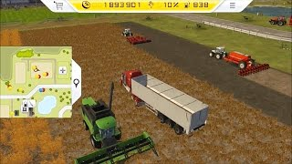 Farming Simulator 14 - PS Vita Gameplay