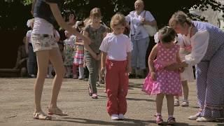 День защиты детей.Весёлые конкурсы, танцы.