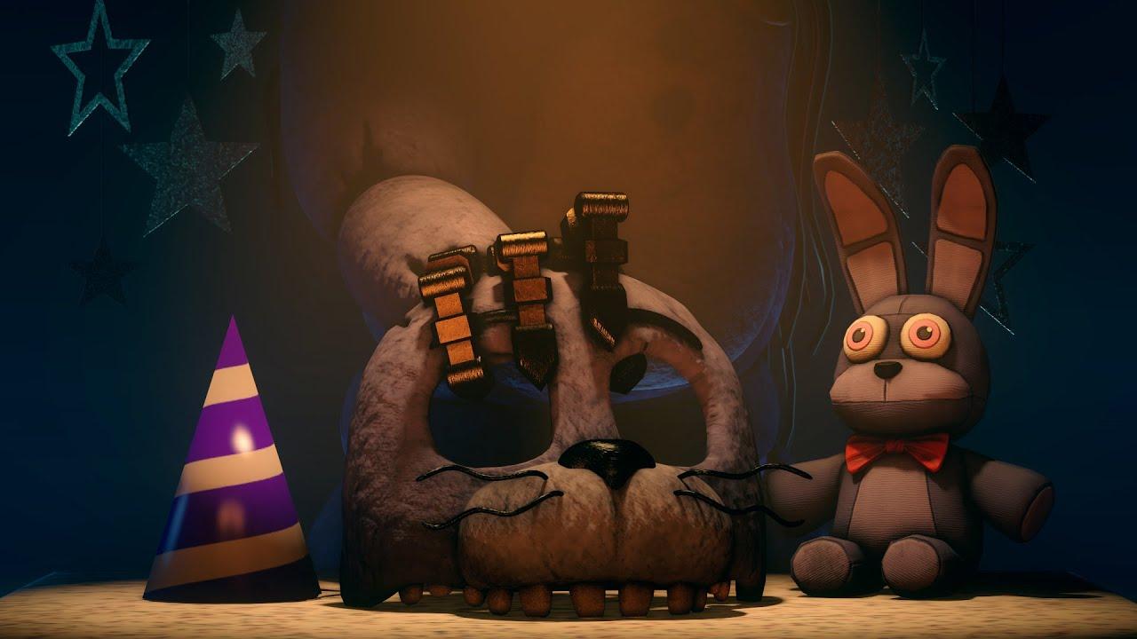 Bonnie's Face - Remake | FNaF Animation