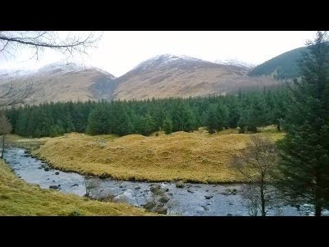 2 Day Wildcamp in Scotland, Glen Doll. (My first Youtube meetup)