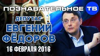 Евгений Фёдоров 16 февраля 2016 (Познавательное ТВ, Евгений Фёдоров)
