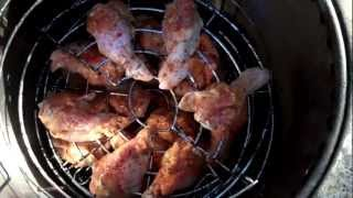 Cooking With Ed  Chicken Wings  On The Gas Big Easy