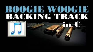 BOOGIE WOOGIE, BACKING TRACK IN C