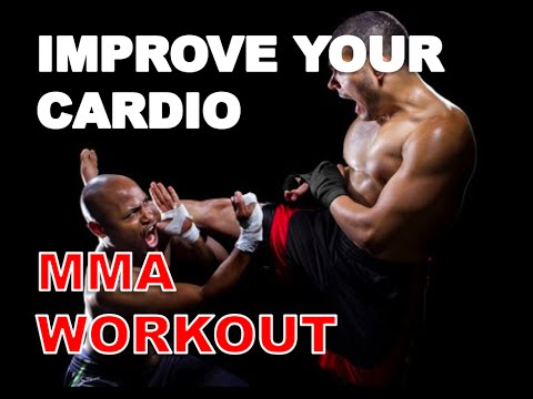 How to Improve Your Cardio: MMA Workout