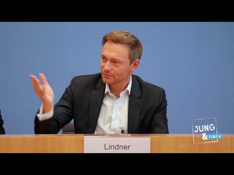 FDP: Christian Lindner & Oliver Lukcic über die Wahl in Saarland - BPK vom 27. März 2017