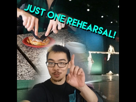 Travel Vlog | We Only Had One Rehearsal!