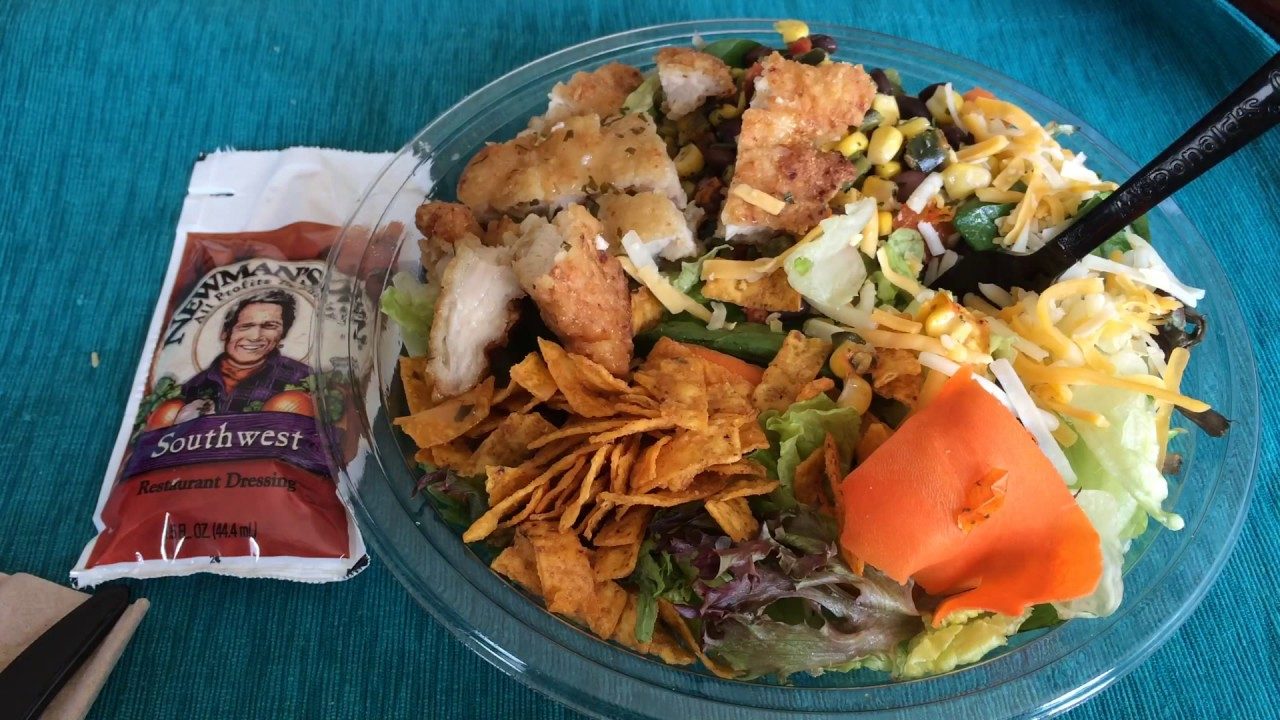 Image result for mcdonalds Southwest Grilled Chicken Salad: