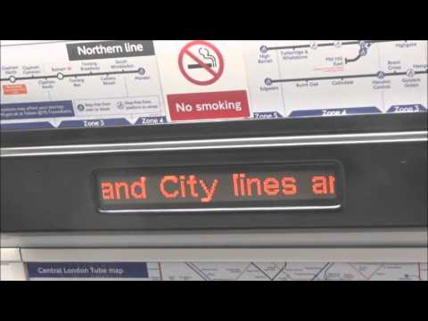 New LU Northern Line Announcements