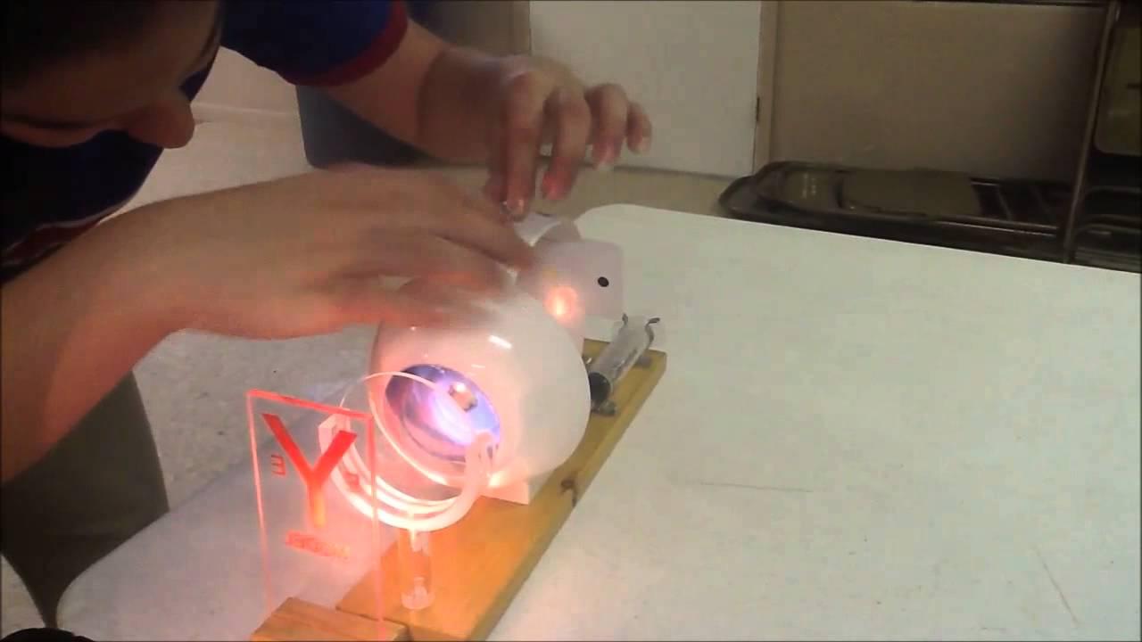 Eye Model Harmony Public School T-STEM Project - YouTube