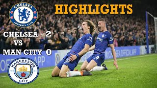 Chelsea  vs Manchester City (2-0) highlights.  All goal EPL 09/12/2018