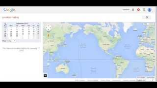 Know Your Google Map Location History