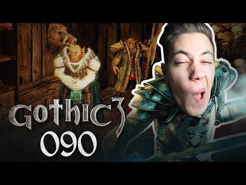 Synchronsprecher-Gott und Umbrak | Let's Play Gothic 3 | 090