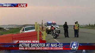 Active shooter situation at NAS-CC