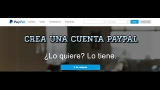 ✔Como crear una cuenta de PAYPAL SIN INGRESAR TARJETA DE CREDITO | 2014-2015 | FULL HD✔