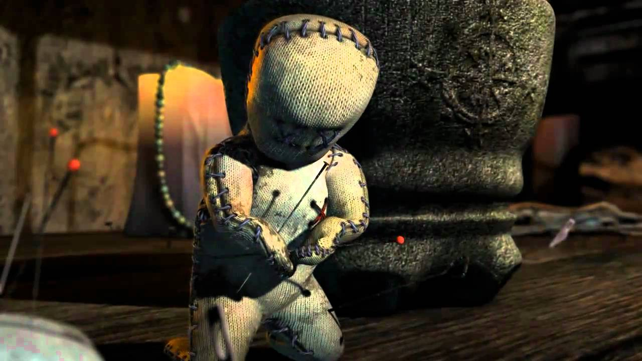 sebastians voodoo A voodoo doll must find the courage to save his friends from being pinned to deathto see more animations go to (and to see a.