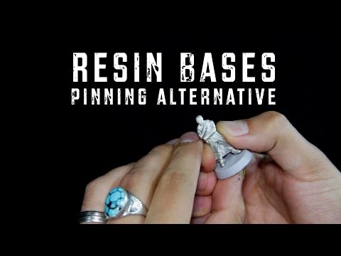 Resin Bases- Blue Table Painting